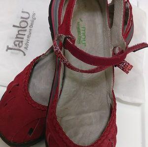 Jambu women shoes Apple Blossom 8.5 M Mary Jane